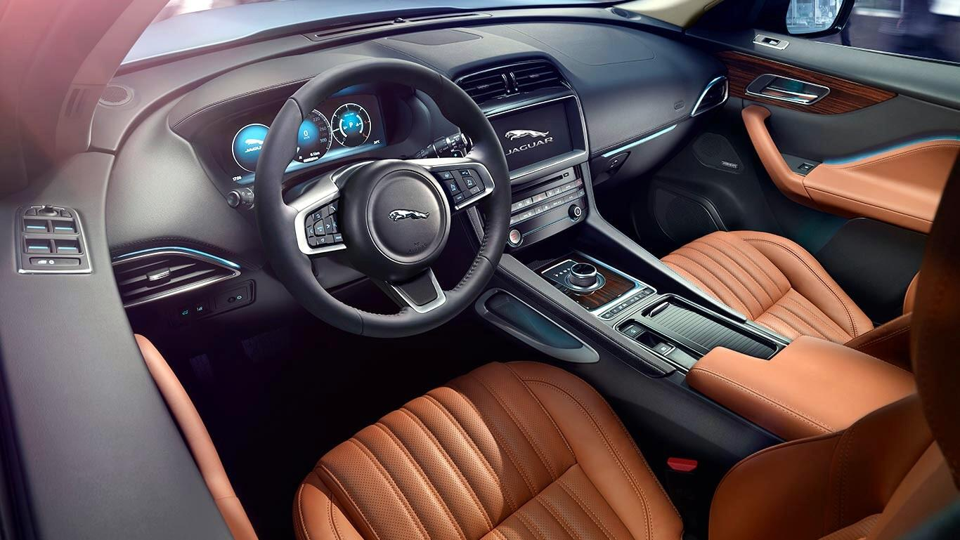 Jaguar F Pace 2019 Crescono Sicurezza E Fruibilita Tgcom24