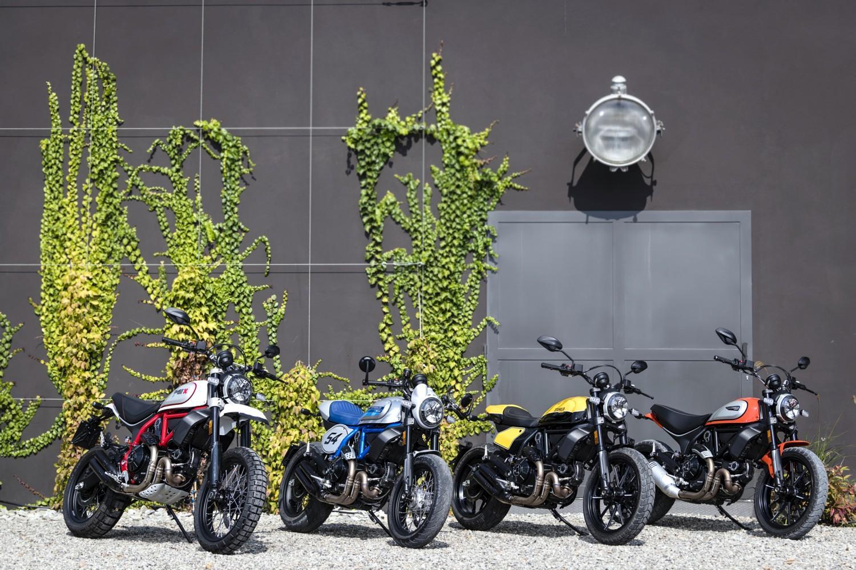 Le 3 nuove Scrambler Ducati