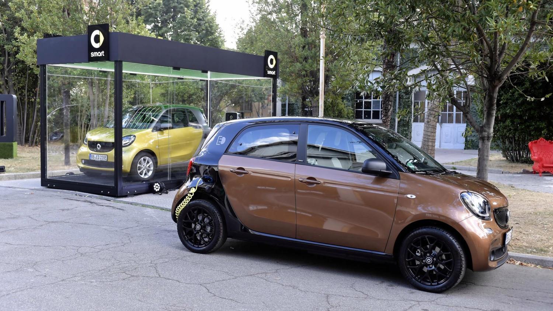 Electric Drive a Roma con Smart