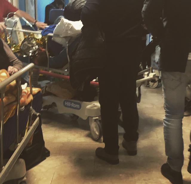 Le condizioni critiche dei pazienti dell Ospedale  Cervello  di Palermo