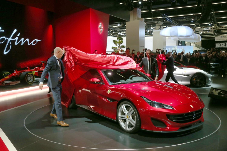 Ferrari allo IAA 2017