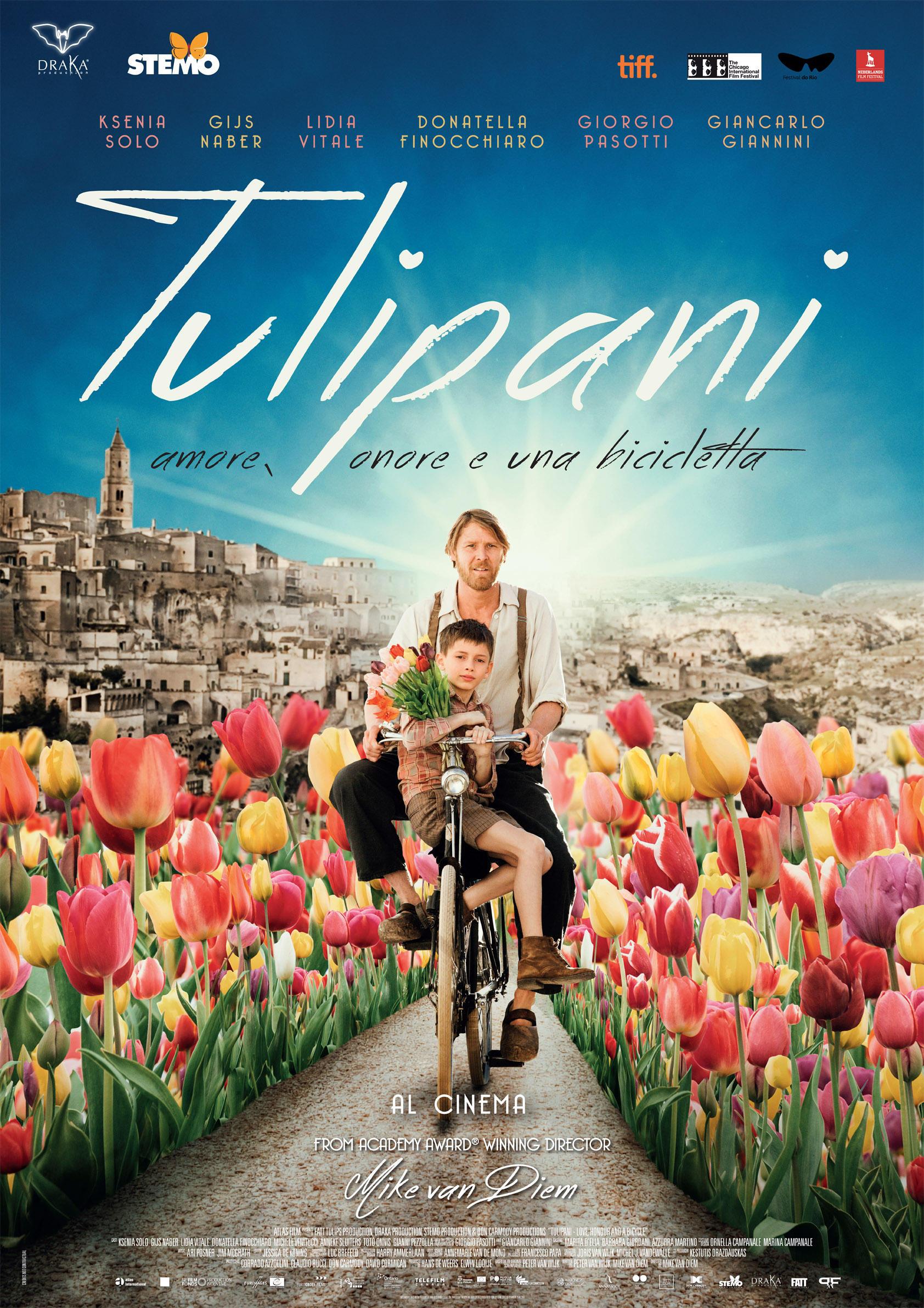 Lidia Vitale in  Tulipani. Amore, onore e una Bicicletta