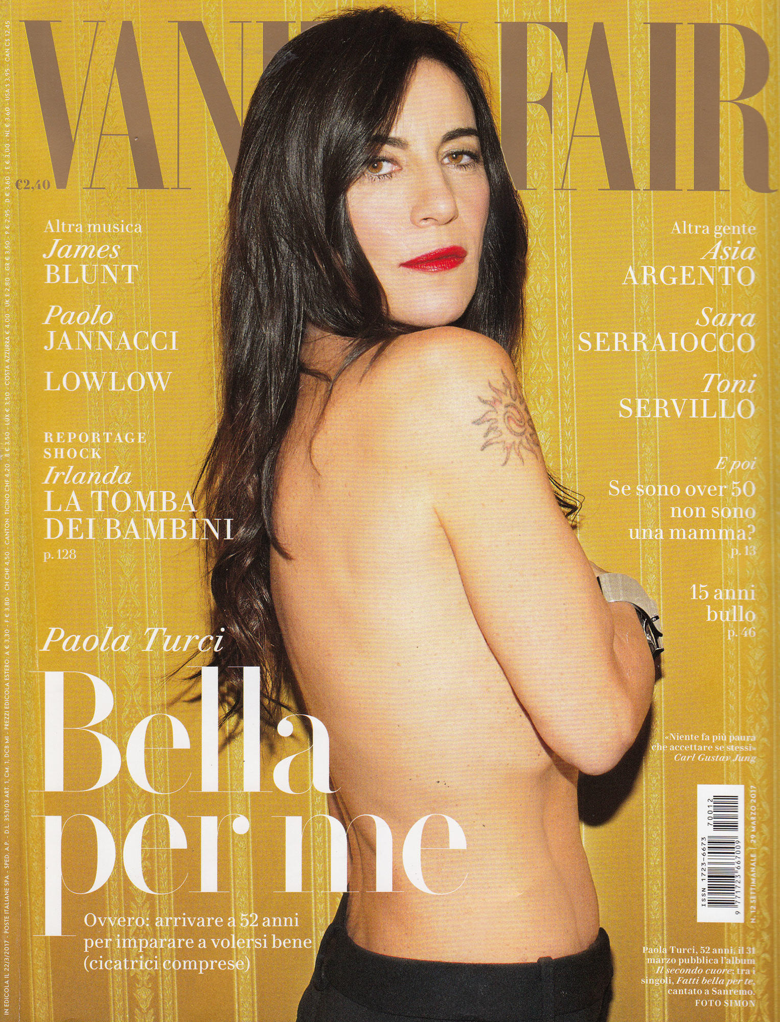 Paola Turci si mette a nudo