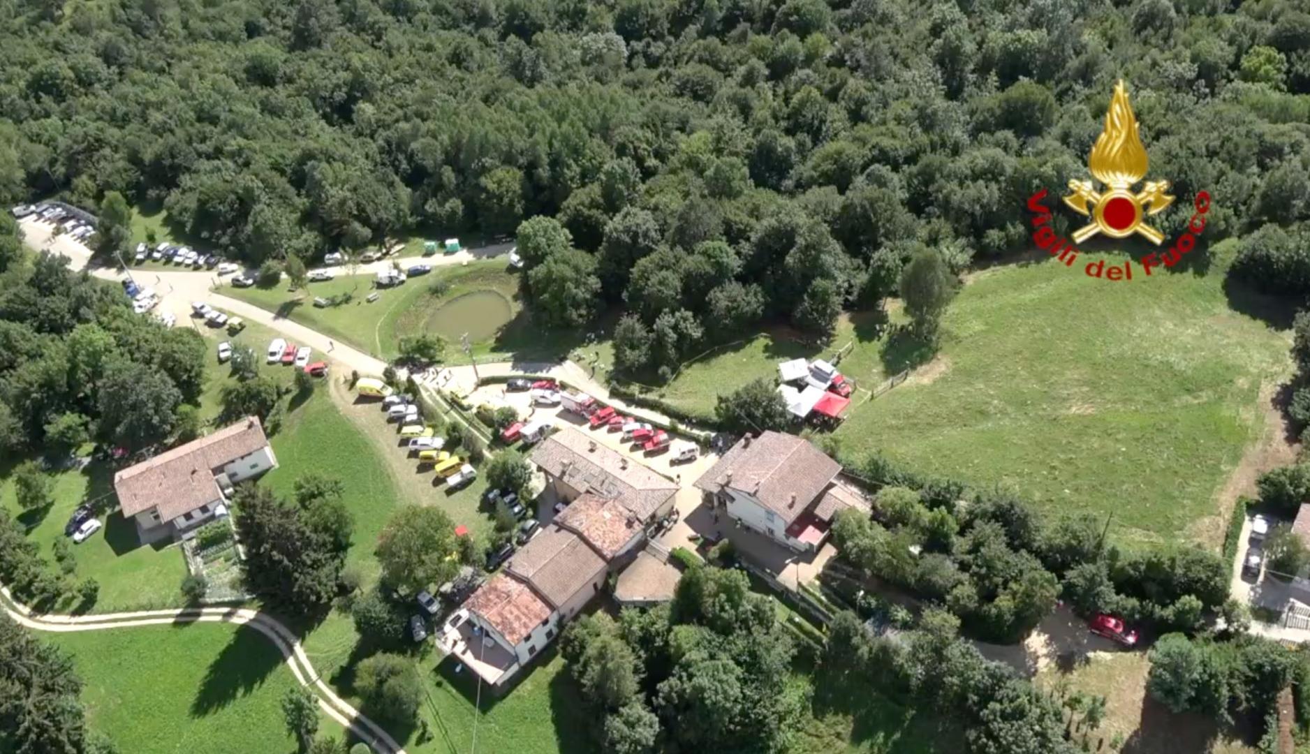 Brescia, ragazzina dispersa nei boschi: la zona delle ricerche