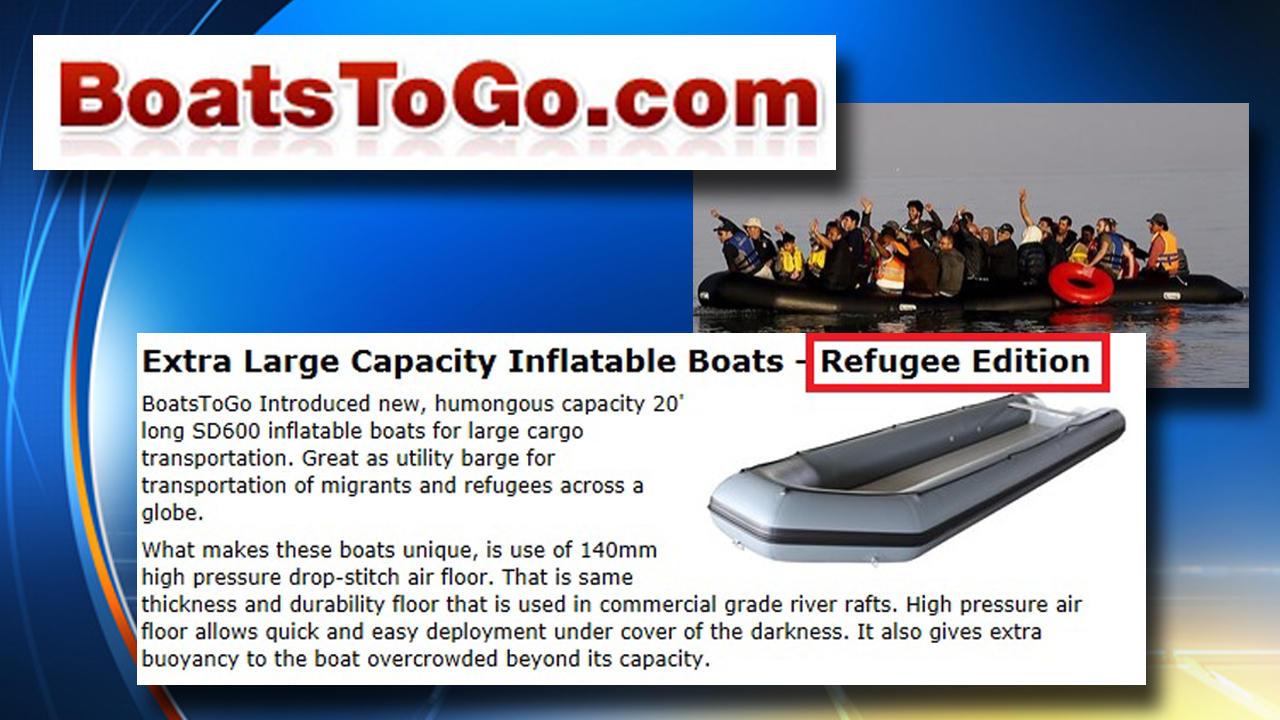 Migranti, gommoni cinesi usati da trafficanti in vendita online