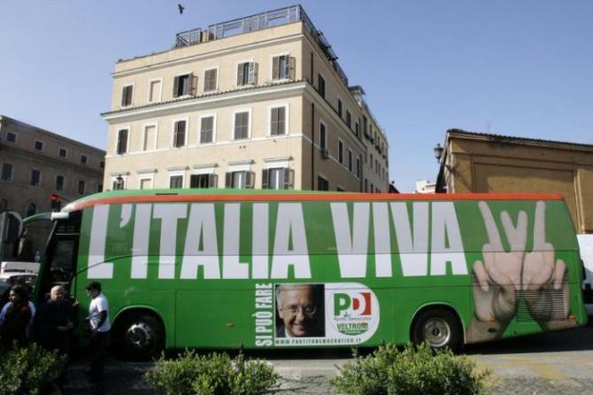Renzi lancia  Italia Viva , è già polemica: il nome è stato usato da Veltroni