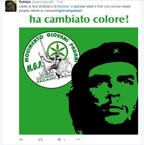 Che Guevara  padano : la polemica