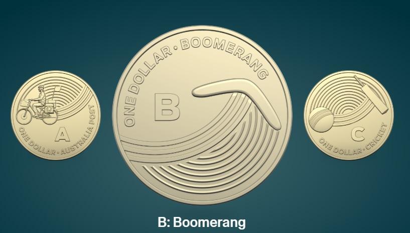 Dalle infradito di gomma agli stendini: ecco cosa c è sulle nuove monete australiane da un dollaro
