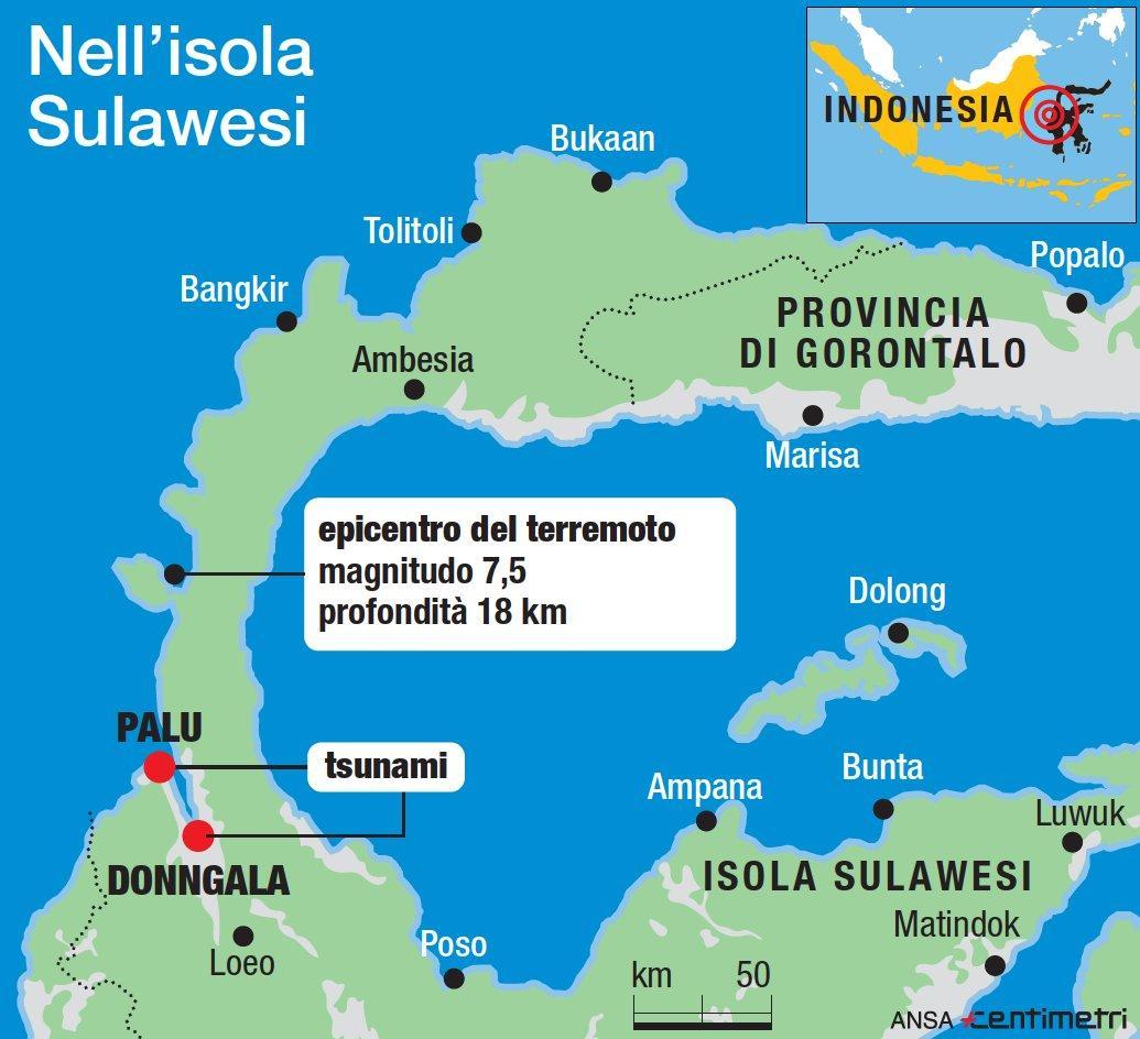 Terremoto in Indonesia, i luoghi della tragedia