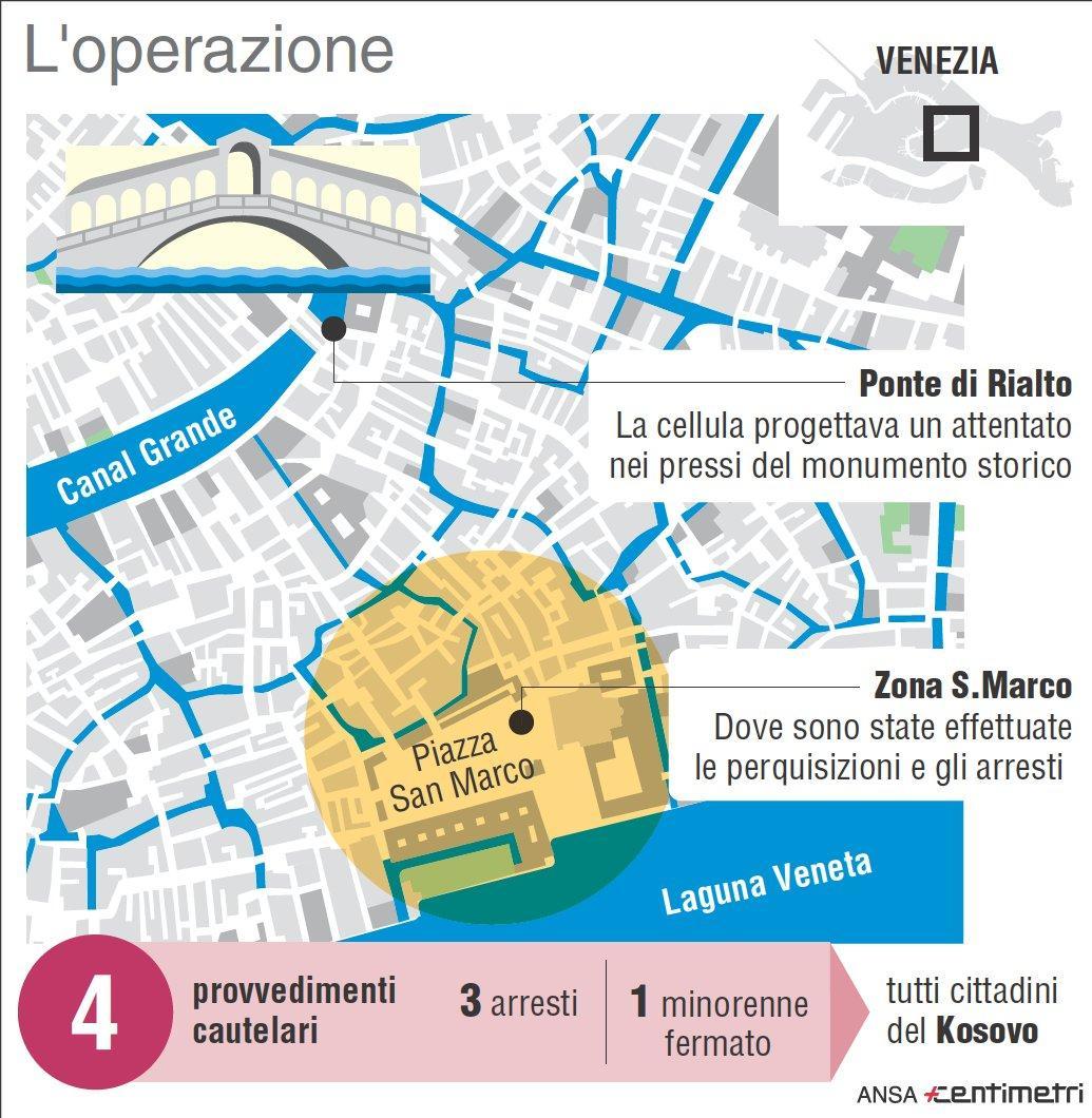 Venezia, sgominata una cellula jihadista: \