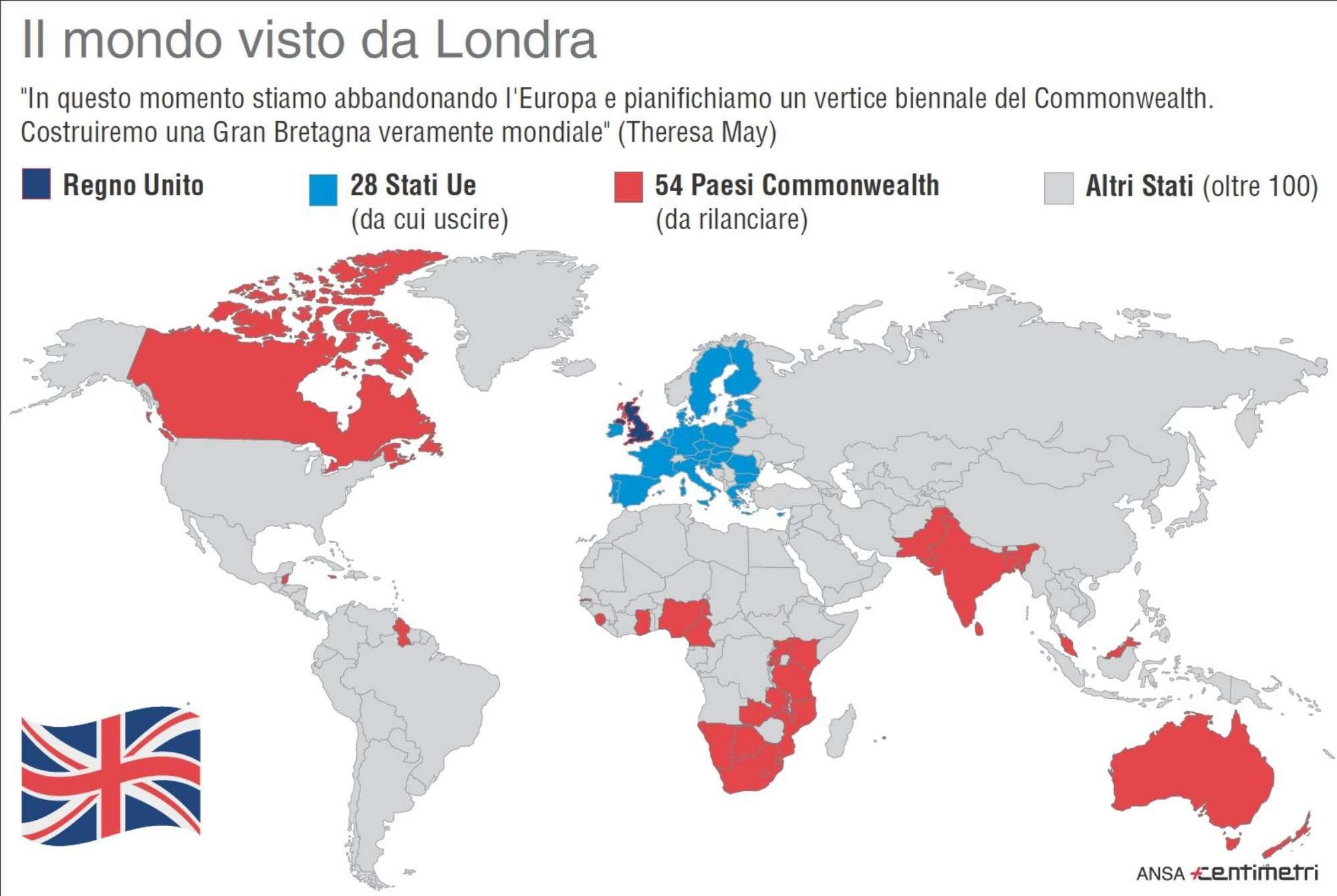 Brexit, il mondo visto da Londra