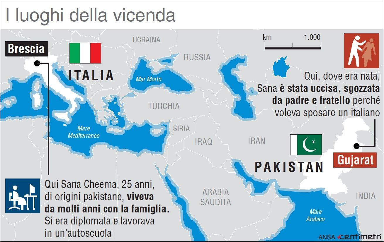 Pakistana uccisa perché troppo occidentale