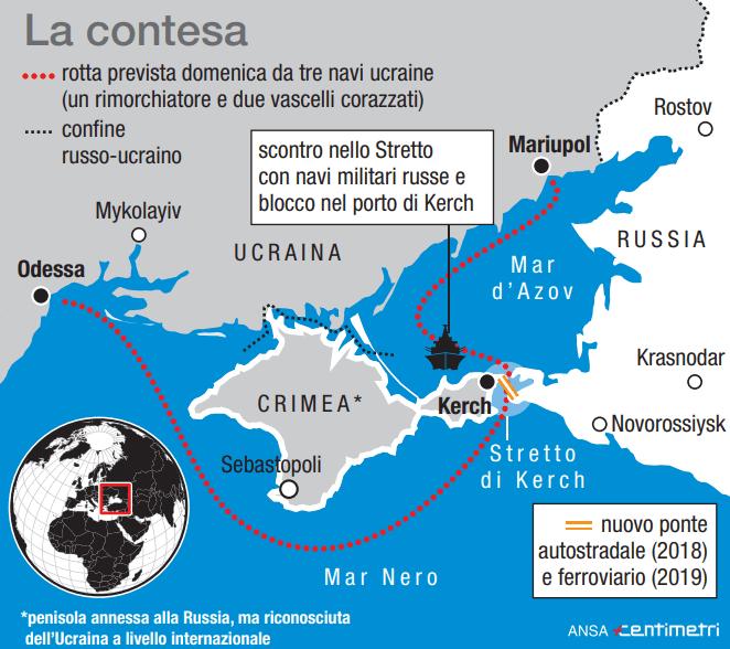 Crimea, l ultimo scontro tra Mosca e Kiev
