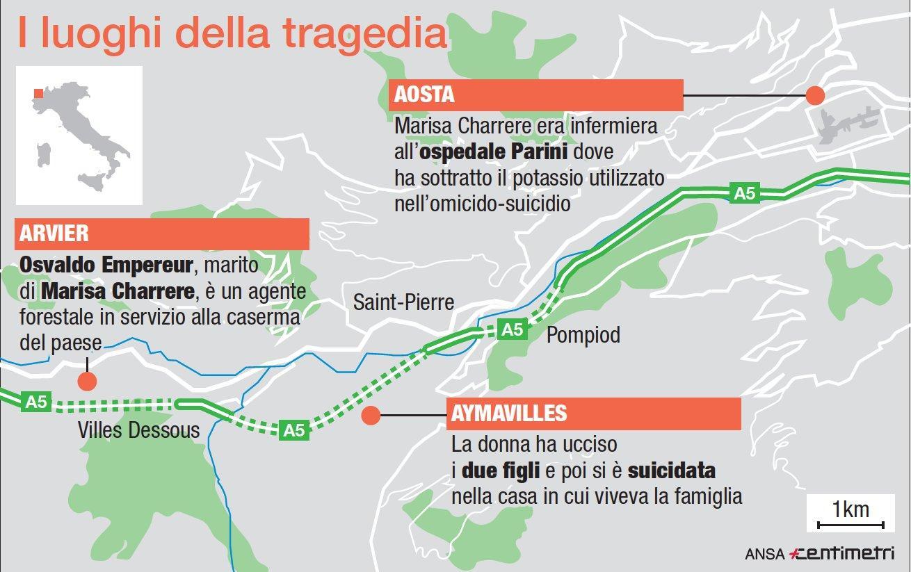 Aosta, infermiera uccide i due figli con un iniezione letale