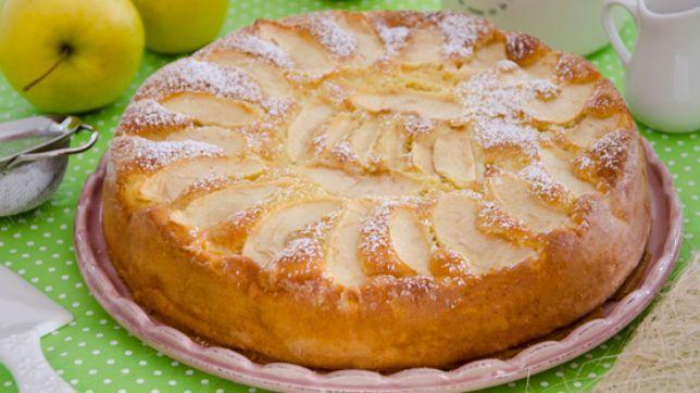 Ricetta della torta di mele con l'olio