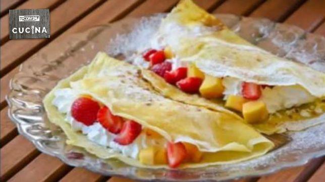 Ricette crepes con frutta