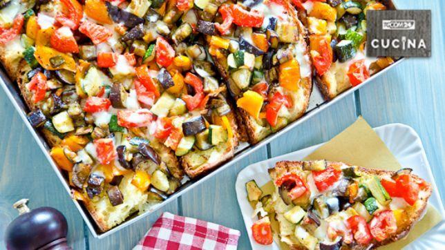 Pizza Di Pane Alle Verdure Tgcom24