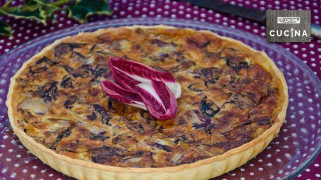 Decorazioni Torte Salate : Torta salata al radicchio tgcom24