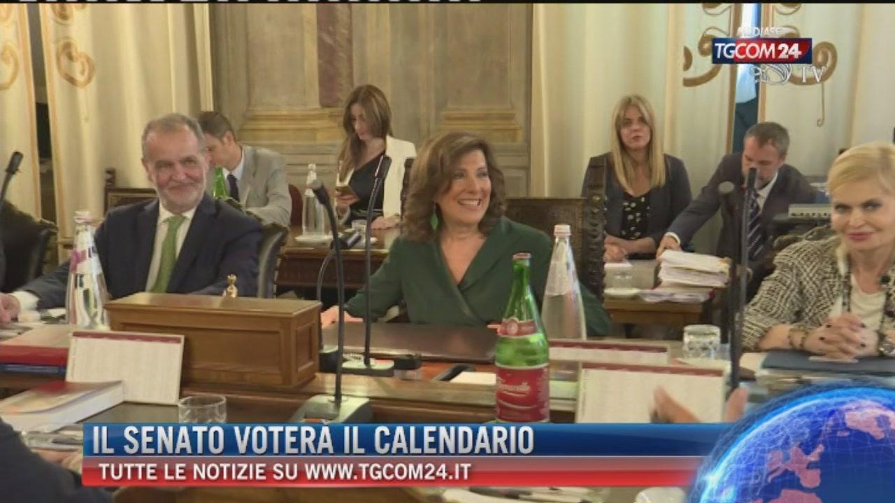 Senato Calendario.Il Senato Votera Il Calendario