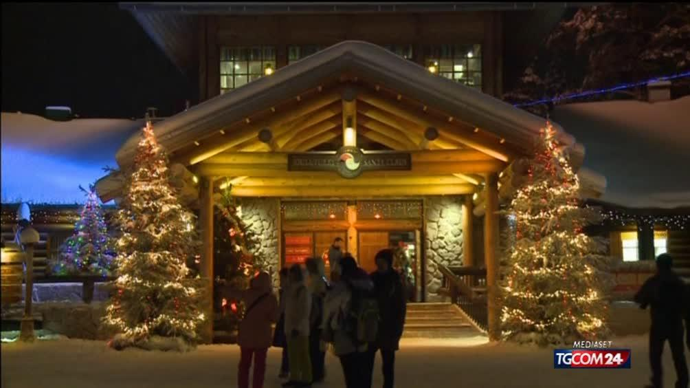 Lapponia Casa Di Babbo Natale Video.Lapponia A Casa Di Babbo Natale E Partito Il Conto Alla Rovescia