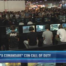 Rovazzi  a comandare  con Call of Duty