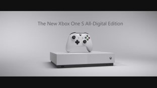 Xbox One S, arriva il modello  All-Digital