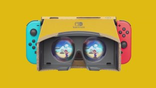 Super Mario Odyssey e The Legend of Zelda: Breath of the Wild in VR Con Nintendo Labo