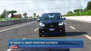 In prova la Smart FourFour EQ 100% elettrica