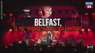 Belfast, il più  grande  fan dei Foo Fighters