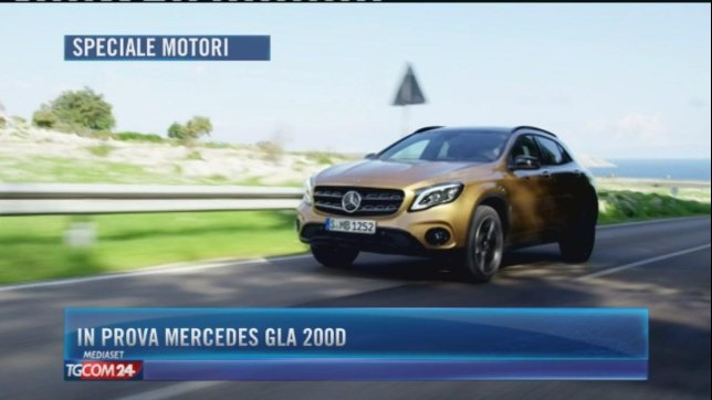 In prova Mercedes GLA 200d