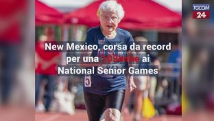 New Mexico, corsa da record per una 103enne ai National Senior Games
