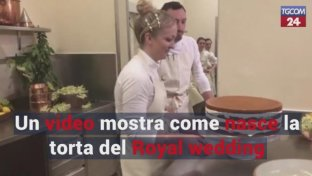 Un video mostra come nasce la torta del Royal wedding