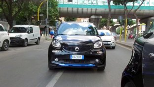 Smart forfour EQ, la cittadina intelligente