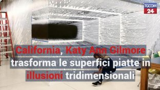 California, Katy Ann Gilmore trasforma le superfici piatte in illusioni 3D