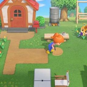 Il nuovo Animal Crossing si presenta in una galleria