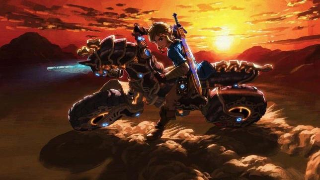 Mario Kart 8 Deluxe, arriva la moto di Zelda: Breath of the Wild