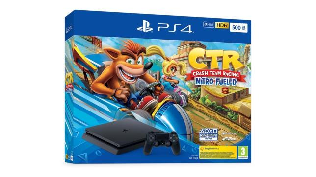 Sono in arrivo le PS4 Slim con Crash Team Racing Nitro-Fueled