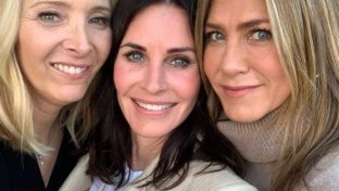 Compleanno tra  Friends  per Courtney Cox
