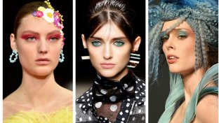Beauty, make-up stile 'pop': l'ombretto trendy è a tinte forti