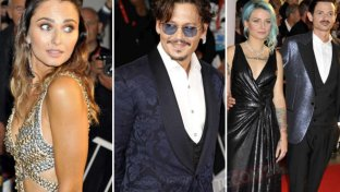 Venezia 76, Johnny Depp e Anna Safroncik illuminano il red carpet
