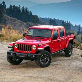 Jeep Gladiator, il pick-up senza timori