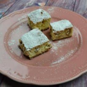 Blonde Brownies alle noci