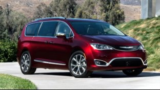 Chrysler Pacifica, comfort da business class